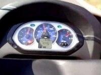Максимальная скорость SYM Joyride  125 Evo