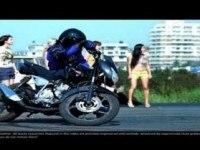 Красивое видео Bajaj Pulsar 180