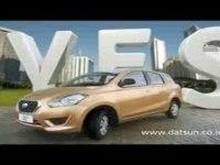 Реклама Datsun GO+