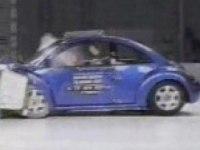 Краш-тест Volkswagen New Beetle