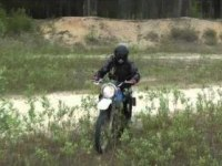 Езда на Suzuki DR200 Djebel (DF200, Trojan)