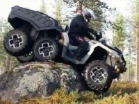 Иностранный тест BRP Can-Am Outlander 6x6