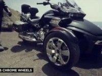 Промо ролик BRP Can-Am Spyder F3