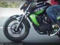 Yamaha FZ-S 16 в статике и движении