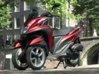 Французский тест Yamaha Tricity
