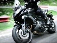 Промышленный ролик о мотоцикле Kawasaki Versys 650