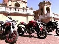 Ducati Monster 821 в статике и движении
