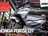 Французский репортаж об Honda Forza 125