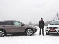 Тест-сравнение: Honda CR-V 2.4 против Suzuki Grand Vitara 2.4
