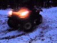 Дрифт на Linhai ATV200-B