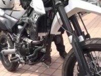 Kawasaki D-Tracker X (KLX250SF) в статике и движении