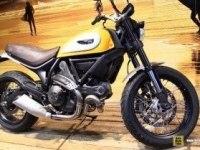 Ducati Scrambler Classic на выставке