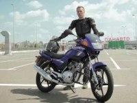 Украинский тест Yamaha YBR125
