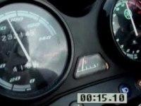 Разгон Yamaha YBR125 с 0 до 100 км/час