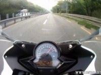 Разгон и максимальная скорость Honda CBR125R