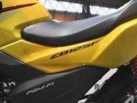Honda CB125F в статике