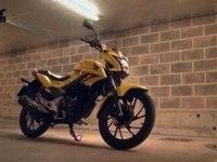 Английский тест Honda CB125F