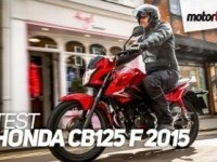 Французский тест Honda CB125F