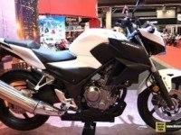 Honda CB300F на выставке
