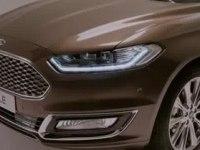Промо-видео Ford Mondeo Vignale Sedan