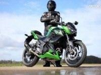 Тест Kawasaki Z300