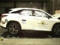 Краш-тест Lexus RX 450h