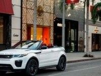 Интерьер и экстерьер Range Rover Evoque Convertible