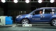Краш-тест Subaru Forester