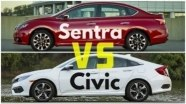 Сравнение Nissan Sentra и Honda Civic