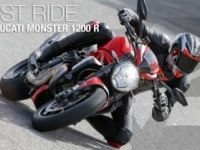 Тест Ducati Monster 1200 R