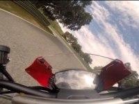 Ducati Monster 1200 R на треке