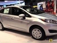 Ford Fiesta Sedan на выставке