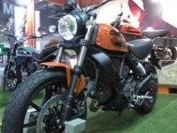 Ducati Scrambler Sixty2 на выставке
