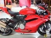 Ducati 959 Panigale на выставке
