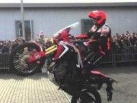 Стант на Honda Africa Twin CRF1000L