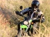 Проморолик Kawasaki D-Tracker (KLX150BF)