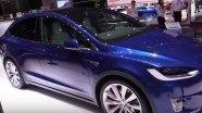 Tesla Model X на выставке