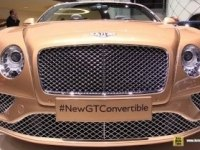 Bentley Continental GT Convertible в Женеве