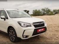 Тест-драйв Subaru Forester 2016