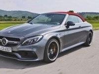 Проезды Mercedes-Benz C-Class Cabrio AMG C63 S