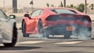 Динамика Lamborghini Huracan LP 580-2