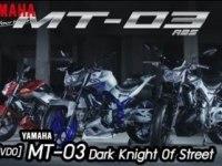 Трейлер Yamaha MT-03