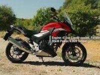 Официальное видео Honda CB500X