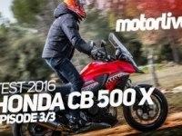 Тест Honda CB500X