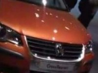 VW Cross Touran на выставке