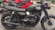 Triumph Bonneville T100 в статике