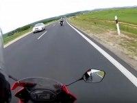 Максимальная скорость Honda CBR500R