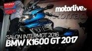 BMW K 1600 GT на выставке