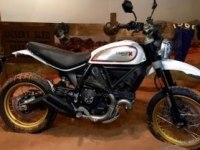 Ducati Scrambler Desert Sled на выставке