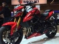 Suzuki GSX-S750 на выставке